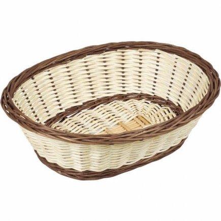 Servírovací košík na pečivo Gastro 24x19 cm, oválny