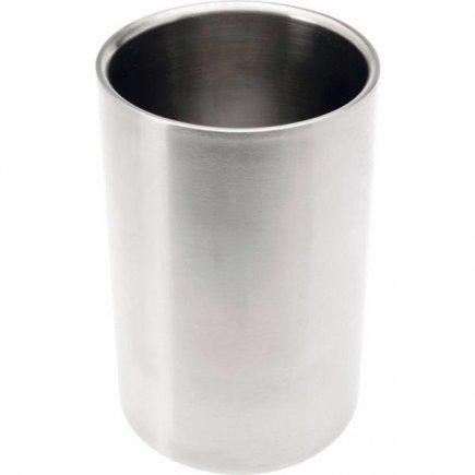 Chladiaca nádoba na víno Gastro 18 cm, dvojstenná, nerez