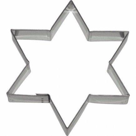 Vykrajovátko na sušienky hviezda 11x9,5 cm