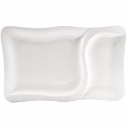 Tanier servírovací Gastro 37x23,5 cm,delený