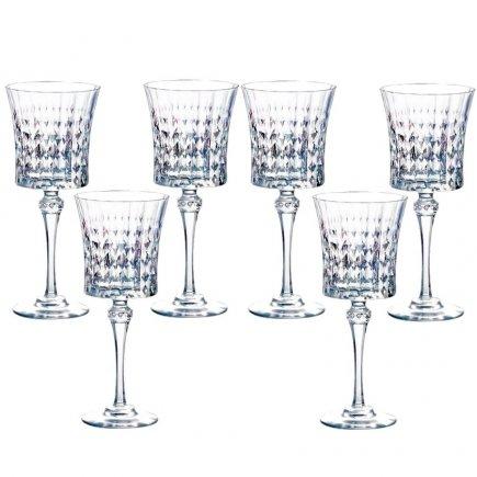 Sada 6 pohárov na víno Arcoroc Lady Diamond 270 ml