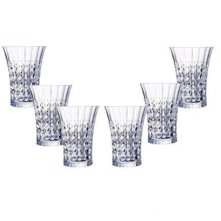 Sada 6 pohárov na nealko Arcoroc Lady Diamond 280 ml