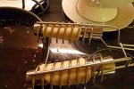 Forma pre prípravu smažených špirál Gastro 47 cm