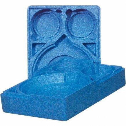 Menu box nevybavený Menümobil, modrý