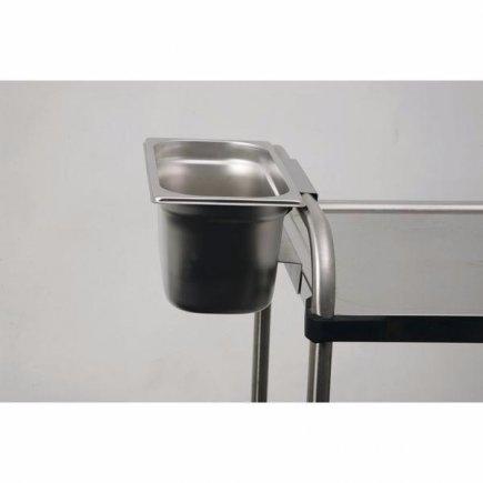 Kôš pre servírovacie vozíky Rieber 15 cm