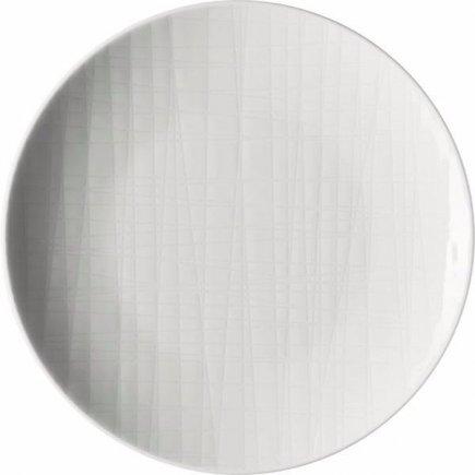 Tanier dezertný Rosenthal Mesh 17 cm, biela