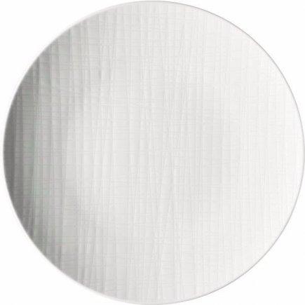 Tanier plytký Rosenthal Mesh 30 cm, biela