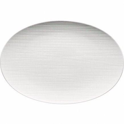Tanier oválny Rosenthal Mesh 35x26 cm, biela