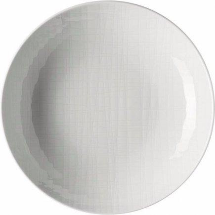 Tanier hlboký Rosenthal Mesh 19 cm, biela