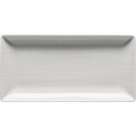 Miska obdĺžniková Rosenthal Mesh 20x10 cm, biela