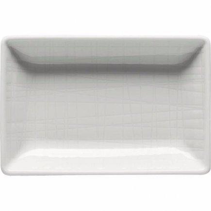 Miska obdĺžniková Rosenthal Mesh 10x7 cm, biela