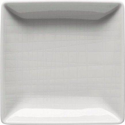 Miska štvorcová Rosenthal Mesh 10x10 cm, biela