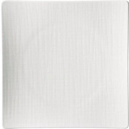 Tanier štvorcový Rosenthal Mesh 27x27 cm, biela
