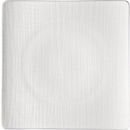 Tanier štvorcový Rosenthal Mesh 31x31 cm, biela