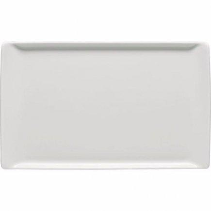 Tanier plytký Rosenthal Mesh 24x15 cm, biela