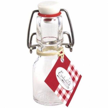 Fľaša s obloučkovým uzáverom Weck 50 ml, guľatá