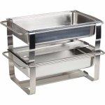 Chafing dish na horľavú pastu APS Caterer Pro 9 l, nerez, bez GN