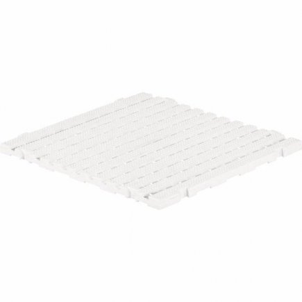 Dlaždica plastová 60x60x3 cm, biela