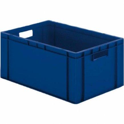 Prepravka plast 60x40x21 cm, modrá