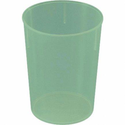 Kelímok plast Waca 250 ml, zelený