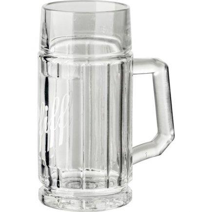 Džbán na pivo Stölzle-Oberglas Pfiff 125 ml cejch 1/8 l, potisk