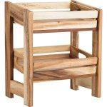 Bednička drevená ku stojanu 226619029 30x21x7 cm, bez dekoru