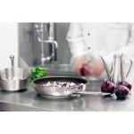 Rajnica nerez Paderno Grand Gourmet 1000 24 cm, indukcia, nízky