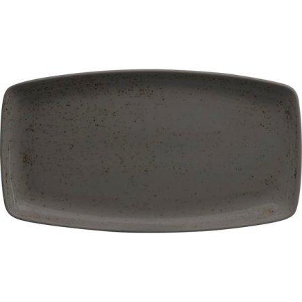 Tanier na hamburgery Schönwald Pottery 36x20 cm, tmavo šedý