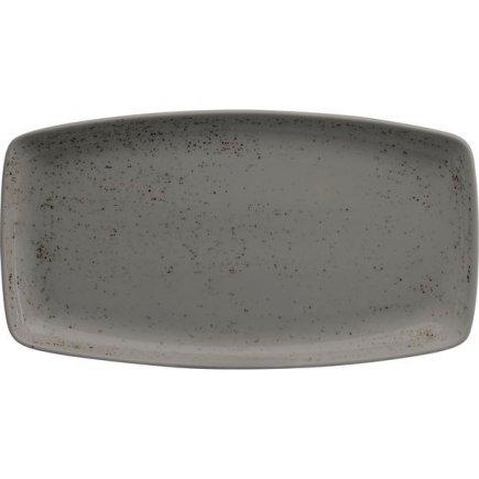 Tanier na hamburgery Schönwald Pottery 36x20 cm, svetlo šedý