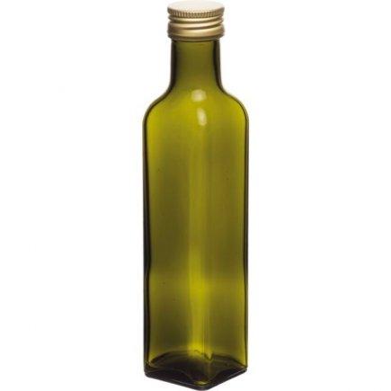 Fľaša Maraska 250 ml, skrutkovací uzáver, zelená