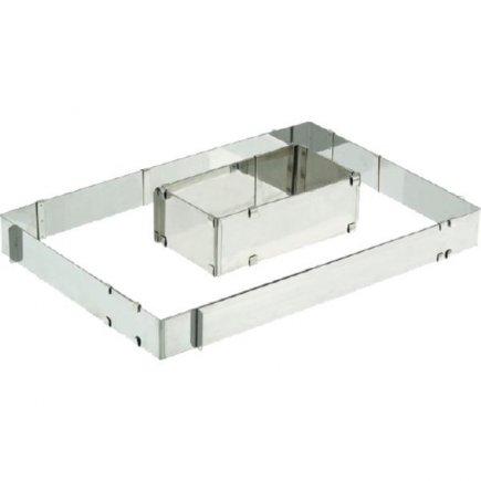 Rám na pečenie nastaviteľný Schneider 21,5x11,5 - 40,5x20 cm