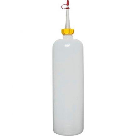 Dávkovacia mačkacia fľaša Schneider 1000 ml, transparentná