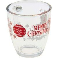 Hrnček sklenený Merry Christmas 380 ml