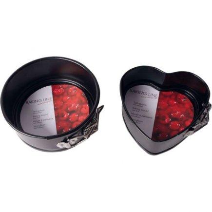Forma tortová Gastro 12,5 cm, guľatá / srdce