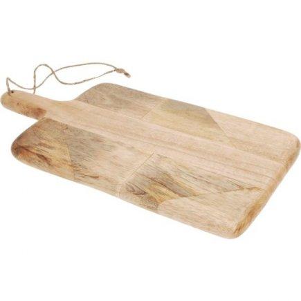 Lopárik XXL mangové drevo 36x19,5 cm