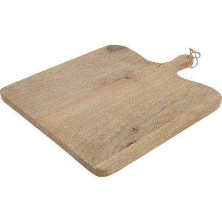 Lopárik XXL mangové drevo 39,5x48,5 cm