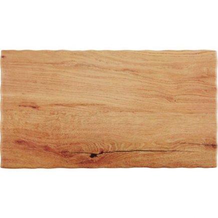Podnos servírovací melamín APS 32,5x17,6 cm, drevený vzhľad
