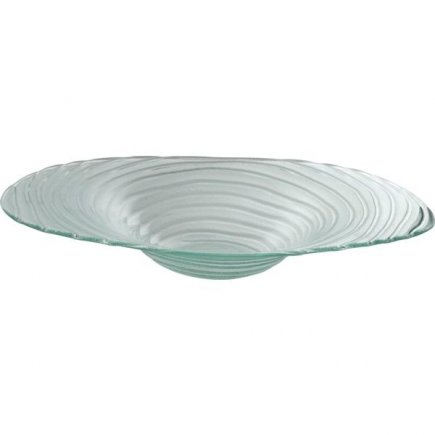 Misa sklenená Gastro 40 cm, ryhovaná
