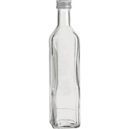 Fľaša na alkohol Marasca 500 ml, skrutkovací uzáver