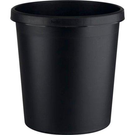 Kôš na papiere plast 18 l, čierny