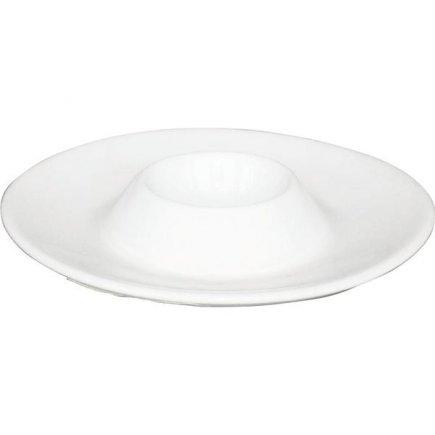 Stojanček na vajíčko Gastro Trend 13 cm, biely