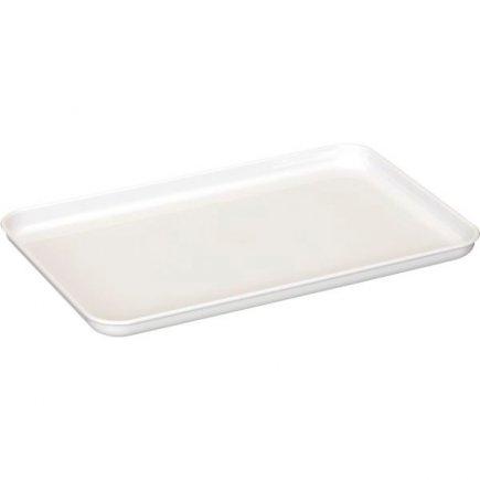 Tácka plastová Gastro 30x18 cm, biela