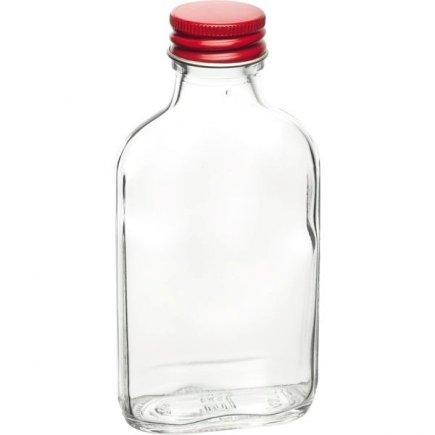Vrecková fľaša ploskačka 100 ml, skrutkovací uzáver