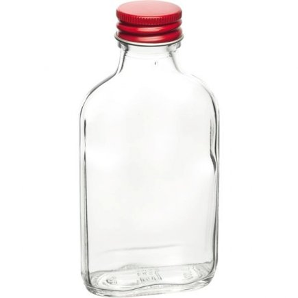 Vrecková fľaša ploskačka 200 ml, skrutkovací uzáver