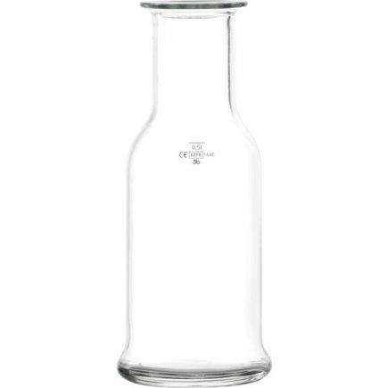 Karafa sklenená Stölzle Oberglas Purity 500 ml cejch 0,5 l