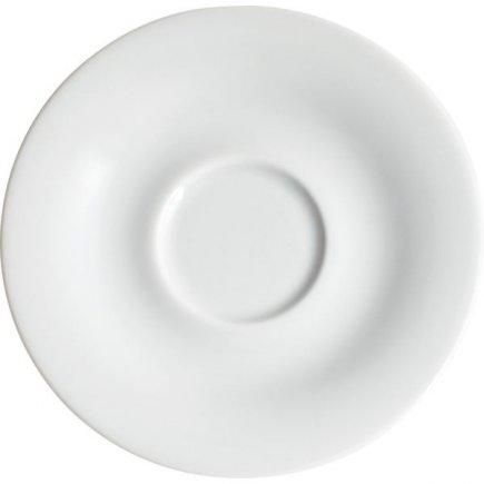 Podšálka na cappuccino Kahla Pronto 14,6 cm, biela