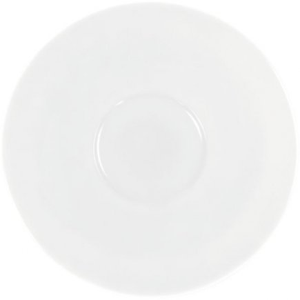 Podšálka veľká jumbo Kahla Pronto 17,9 cm, biela