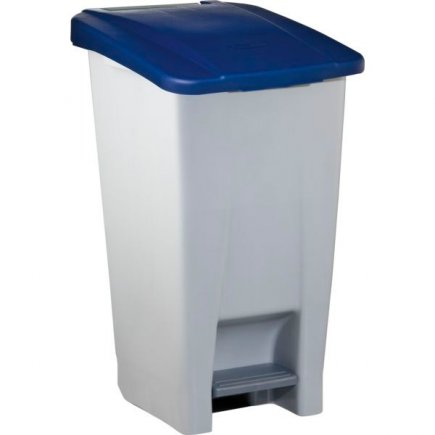 Odpadkový kôš nášlapný Gastro 60 l, sivá / modrá