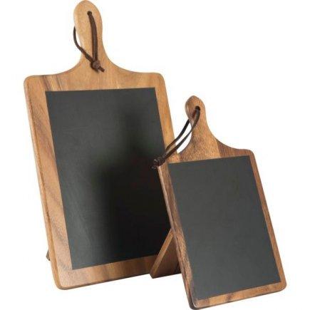 Stojanček na stôl drevený 15x10x26,8 cm