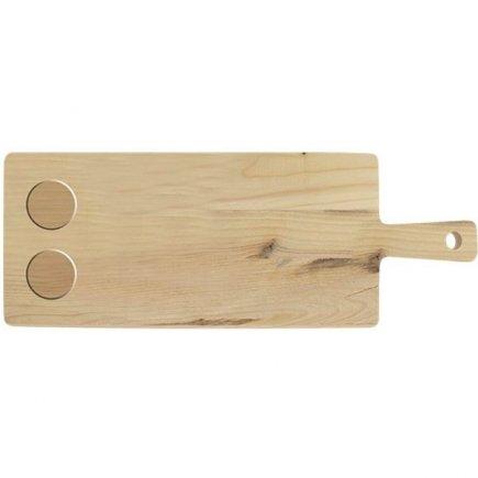 Servírovací lopárik drevený Gusta Table Tales 53x19,5x1,8 cm